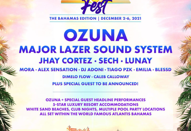 Ozuna Fest Bahamas - Major Lazer