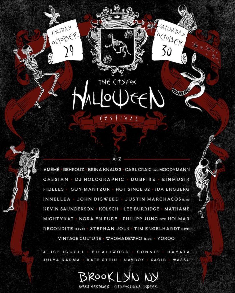 Cityfox Halloween Festival Brooklyn